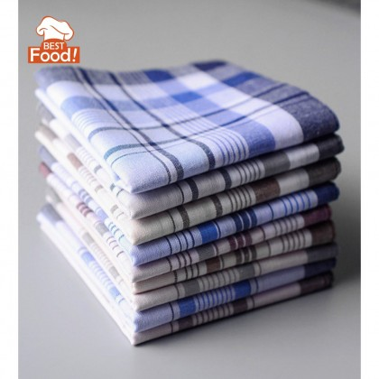 (3 PCS) Men Soft Cotton Handkerchief