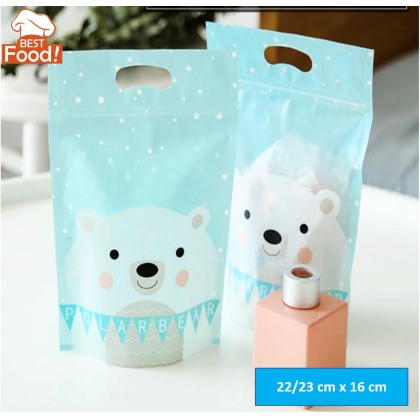 (20/50 pcs) Ziplock Plastics Bag (Bear) for Kenduri / Wedding / Birthday / Celebrations
