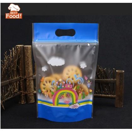 50 pcs Ziplock Plastics Bag (Rainbow) for Kenduri / Wedding / Birthday / Celebrations