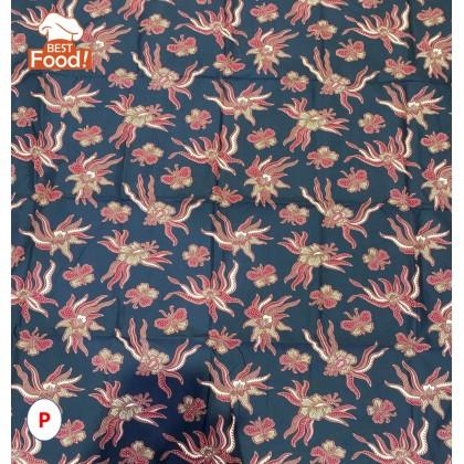 Kain Batik / Sarong 114 cm x 94 cm (Cotton  Halus SIAP JAHIT)