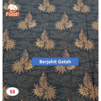 Kain Batik / Sarong - Siap Jahit Getah - Sesuai Untuk Pantang / Confinement / 坐月子纱笼